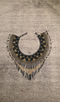 Gold, black and blue necklace Germantown, 20874