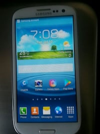 Samsung S3 with charger unlocked and factory reset Innisfil, L9S 4H7