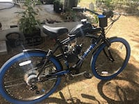 New motorized gas bicycle