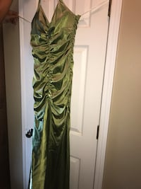 green and brown floral spaghetti strap dress Ocean Springs, 39564