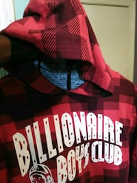 red and black hoodie Baltimore, 21223