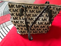 black and gray Michael Kors tote bag Calgary, T1Y 1J7
