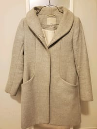 *SELLING* WILFRED COCOON COAT, SIZE XXS HEATHER GREY  Ajax, L1T