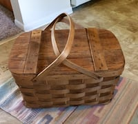 Vintage Rustic Picnic Basket Royal Oak, 48073