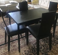 Diling set with 4 chairs