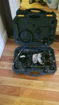 black and gray corded power tool Montreal, H4J 2K7