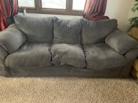 Gray couch and chair