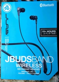 JLAB Jbuds Band Wireless Neckband Headset  Mulino, 97042
