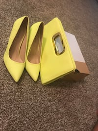 Call in Spring- Coola pumps w/ matching clutch