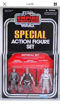 """IMPERIAL SET Star Wars The Vintage Collection Special 3.75"""" Figure Set DENGAR Coquitlam"""