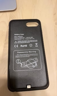 Battery case iPhone 6+ -8+ charging case.