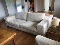 Bohus - hit sofa and 2 stol - in great condition. Removable cushion covers. Råholt, 2070