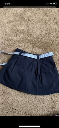 Girls school skirt size 5
