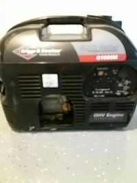 Briggs and Stratton generator 1000 runs great Madison, 53704