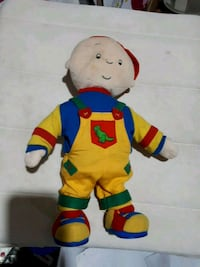 Caillou dancing plush toy