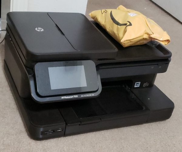 Used FREE!!! HP Photosmart 7525 Scanner/Printer (not working) for