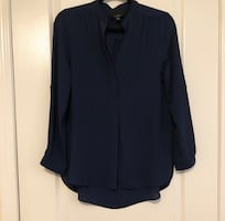 Navy shirt/blouse