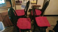 Kitchen table and chairs Chesapeake, 23322