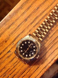 Rolex watch 18k plated Toronto