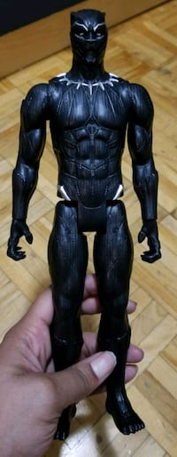 Black panther action figure  Toronto, M9P