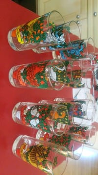 12 Days of Christmas Glasses NEW Beacon, 12508