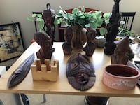 All wooden carvings from a smoke free pet free home everything for 20 bucks Calgary, T3M 0Y1