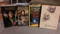 The Hobbit, Return of the King, and two collectors discs on DVD  Burlington, L7M 1L2