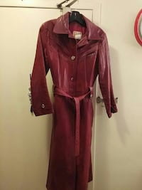 women's brown leather trench coat Toronto, M3N 2T8