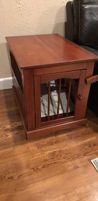 Dog crate end table Syosset, 11791