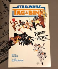 Star Wars Tag & Pink Were Here 2006 (Rare) - Comic