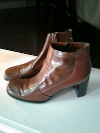 Expensive soft Italian leather boots size 7.5 Kitchener, N2K 4J7