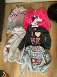 Girls size 6 sweaters St Thomas, N5R 5Z1