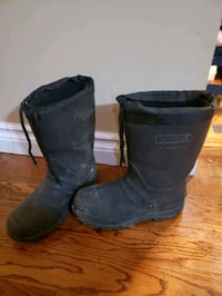 Boys insulated rubber boots
