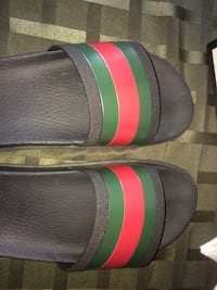 Gucci Slides Size 9 Lightly Worn Edmonton, T5R 5G6