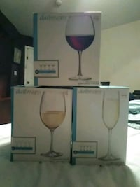 Brand New *Red, White  wine glasses and Champagne flutes! Brand New!
