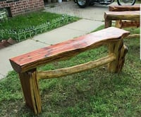 Cedar wooden benches Wichita, 67210