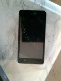BLU phone...cracked screen.  REDUCED! Edmonton, T6W 0J7