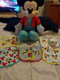 Mickey Mouse Toy and Bibs  Washington, 20018