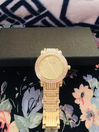 New Mk gold watch good gift for mom Temple Hills, 20748