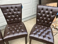 NEW LEATHERETTE DINING CHAIRS x 6 Edmonton, T6X 0A2