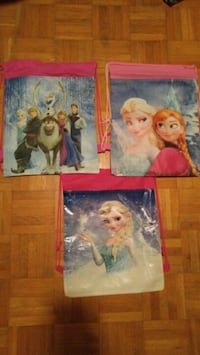 Frozen Drawstring Backpacks Mississauga, L5R 3C7