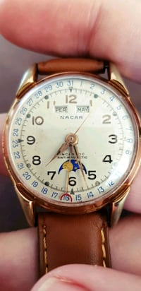 Nacar Triple Date Moonphase