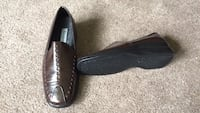 Brand new brown leather slip ons Nashville, 37221
