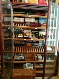 Three Cabinet Humidors