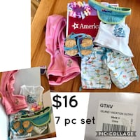 American Girl- Island Vacation Outfit Fairfax Station, 22039