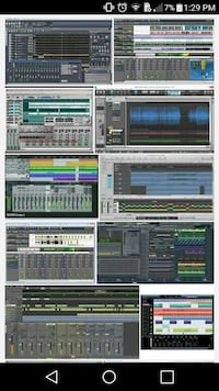 Pro tools and other software's available