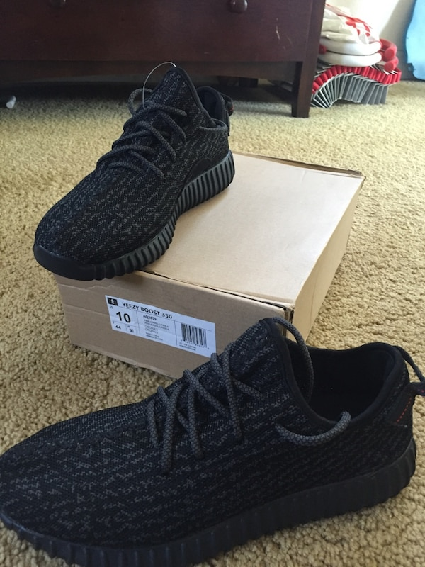 8756dd6cc Used Yeezy Boost 350 Pirate Black Size 10 for sale in Chino Hills ...