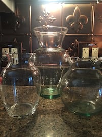 Three different size vases Alamo, 78516