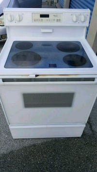80$ NO LESS yes it works white glasstop stove Lakeland, 33809