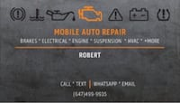Mobile Auto Repairs Mississauga